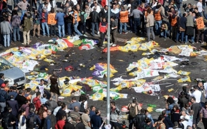 Ankara bombings time