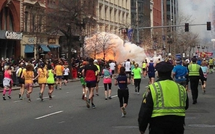 Boston Marathon bombing time