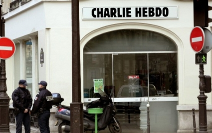 Charlie Hebdo shootings time