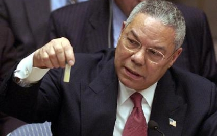 Colin Powell Address to UN Security Council time