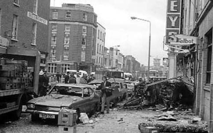 Dublin & Monaghan pub bombings time