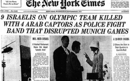 Munich Olympics Massacre time