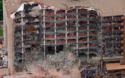 Oklahoma City bombing time