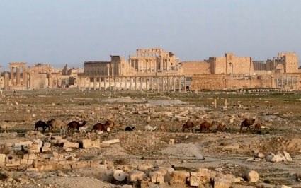IS captures Palmyra time