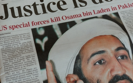 Osama bin Laden killed time