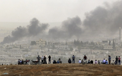 Siege of Kobane time