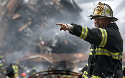 FDNY Deputy Chief calls for rescue teams at Ground Zero time