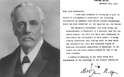 The Balfour Declaration time