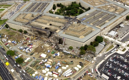 The Pentagon, after 9/11 attack time