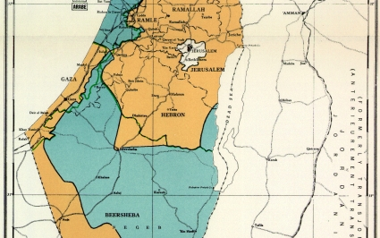Partition plan for Palestine in 1947 time