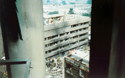 Embassy bombings in Kenya and Tanzania time